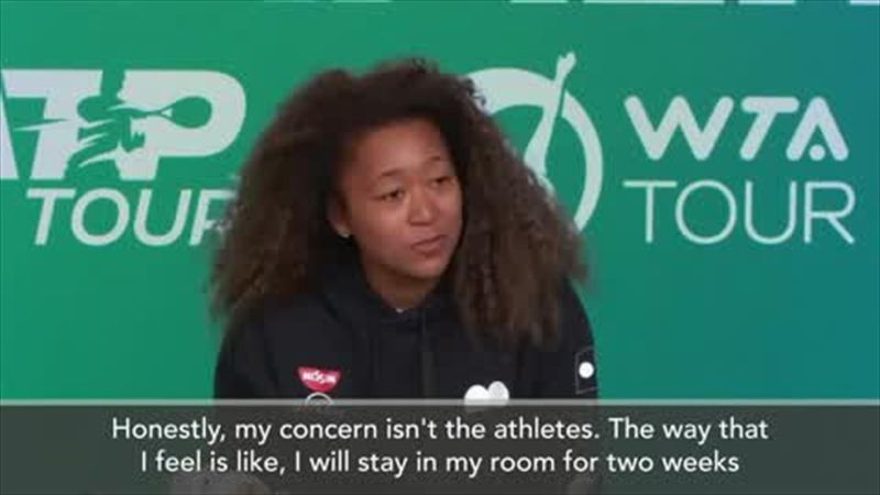 'My concern isn't the athletes' - Naomi Osaka weighs in on Olympic debate