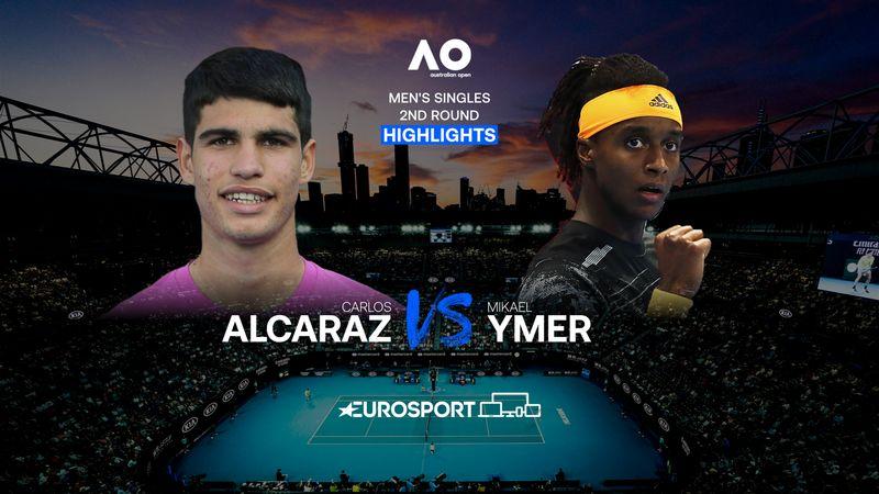 Highlights | Carlos Alcaraz - Mikael Ymer