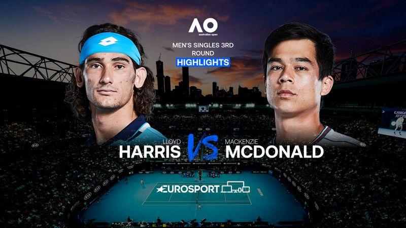 Highlights | Lloyd Harris - Mackenzie McDonald