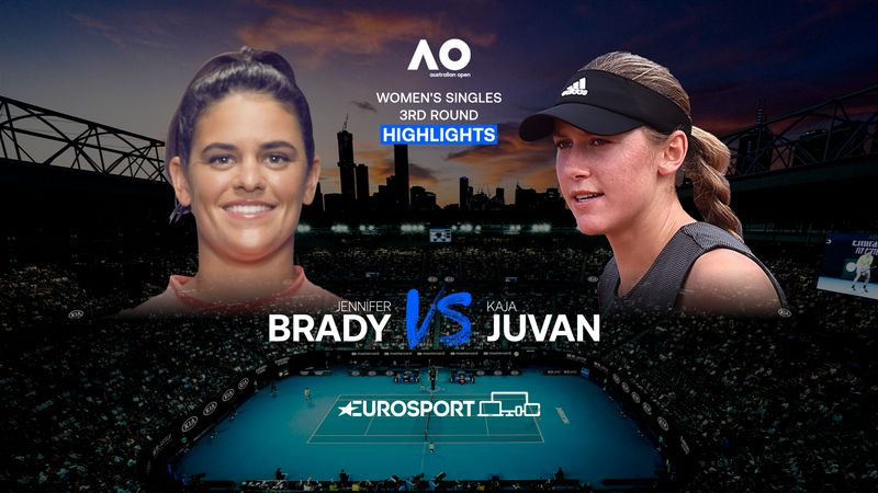 Highlights | Jennifer Brady - Kaja Juvan