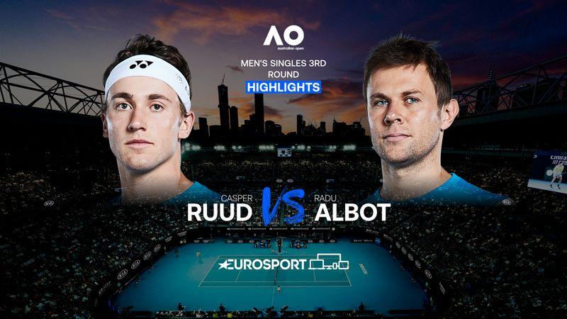 Highlights | Casper Ruud - Radu Albot