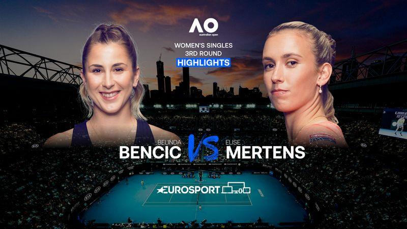 Highlights | Belinda Bencic - Elise Mertens