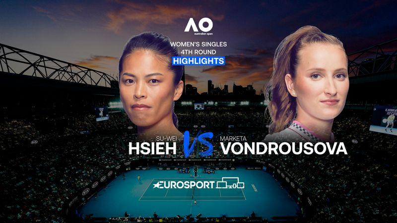 Highlights | Su-Wei Hsieh - Marketa Vondrousova