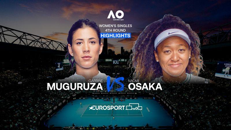 Highlights | Garbiñe Muguruza - Naomi Osaka