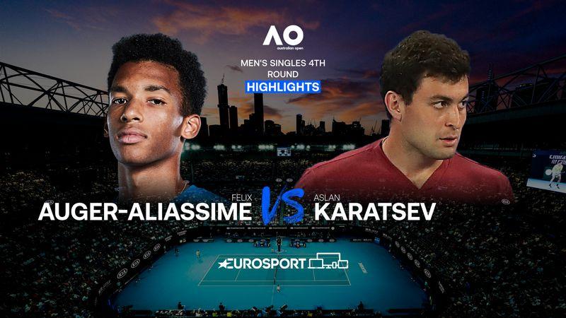 Highlights | Felix Auger-Aliassime - Aslan Karatsev
