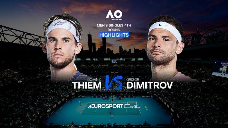 Highlights | Dominic Thiem - Grigor Dimitrov
