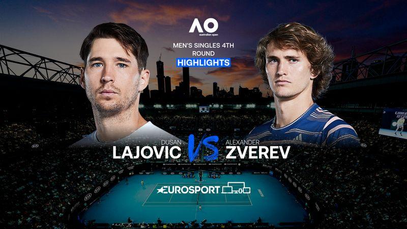 Highlights | Dusan Lajovic - Alexander Zverev