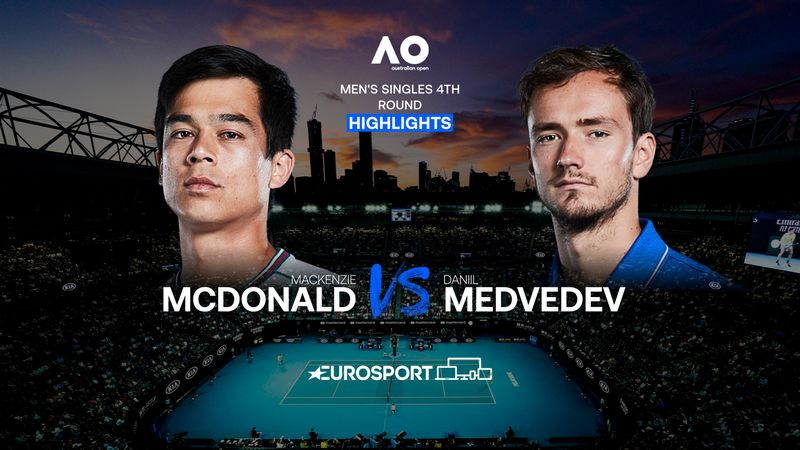 Highlights | Mackenzie McDonald - Daniil Medvedev