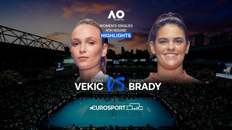 Highlights | Donna Vekic - Jennifer Brady
