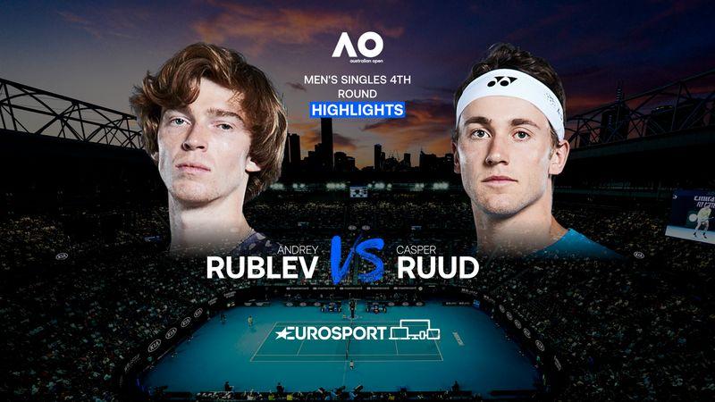 Highlights | Andrey Rublev - Casper Ruud