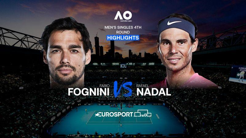 Highlights | Fabio Fognini - Rafael Nadal