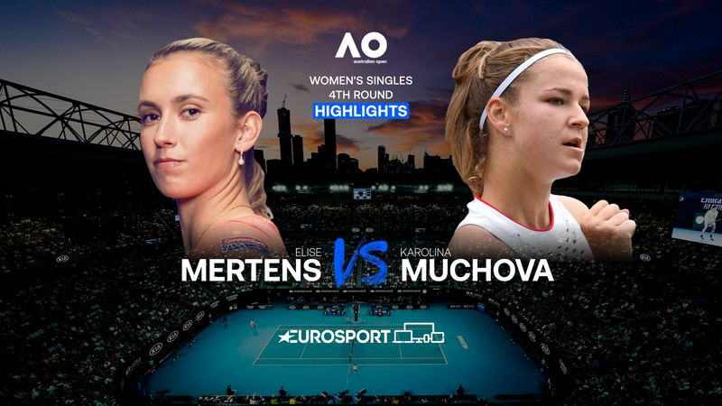 Highlights | Elise Mertens - Karolina Muchova