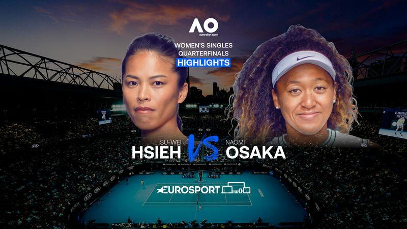 Highlights | Su-Wei Hsieh - Naomi Osaka