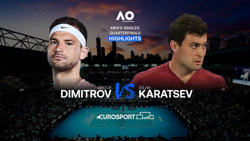 Highlights | Grigor Dimitrov - Aslan Karatsev