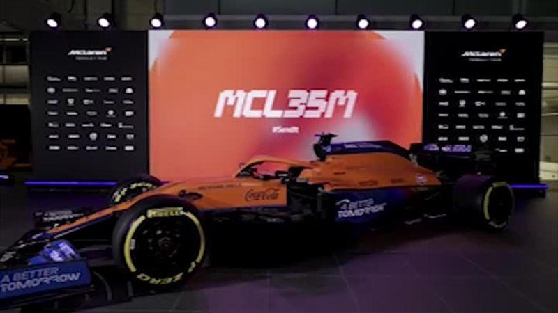 McLaren - La MCL35M dévoilée