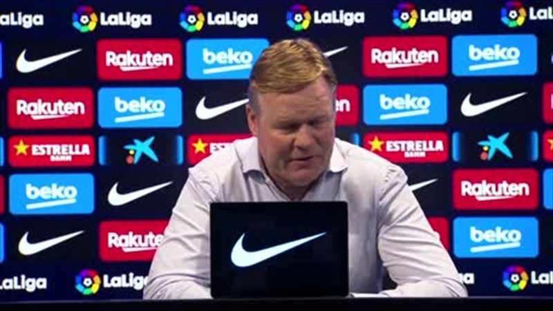 'It was good Messi asked for more intensity - Koeman defends his reaction