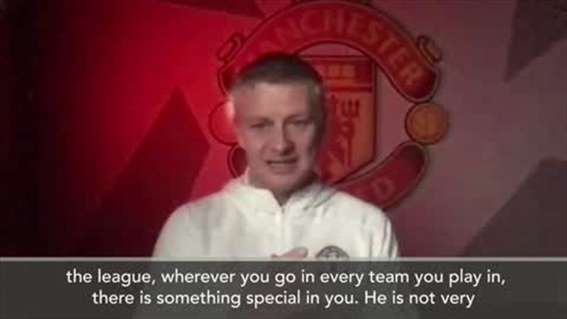 Solskjaer: There is something special in Zlatan Ibrahimovic