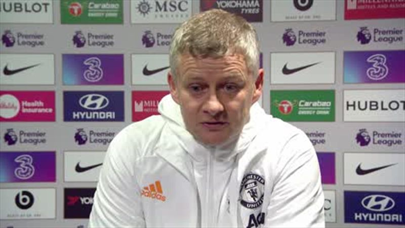 Solskjaer: 'We should have had a penalty and that's clear'
