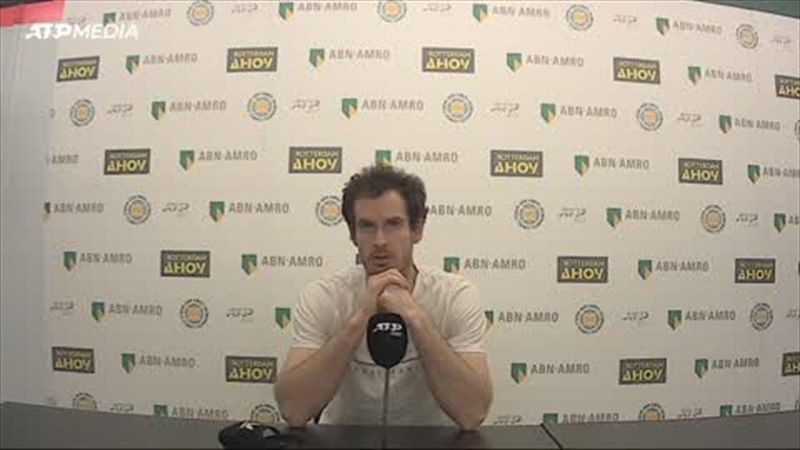 'I blew it, I messed up' - Murray on defeat to Rublev in Rotterdam