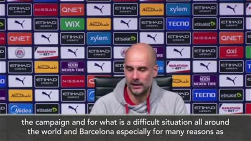 'Hopefully the president we choose will be OK' - Guardiola on Barca elections