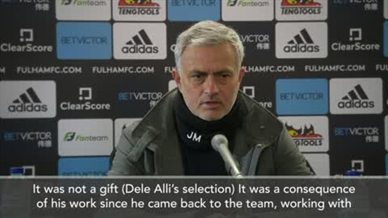 'It was not a gift, he deserved his place' - Mourinho praises Dele