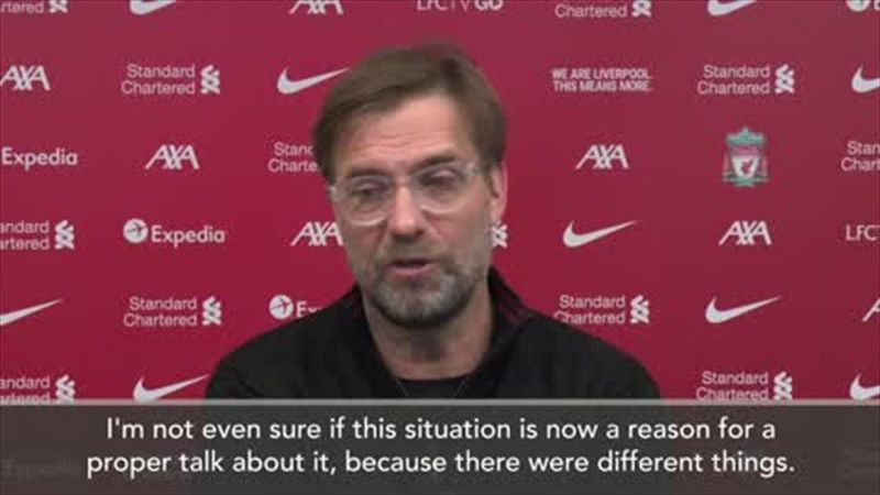 'No problem with Salah' insists Klopp after Chelsea controversy