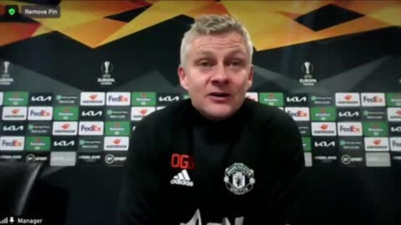 'Disappointed' Solskjaer bemoans United 'dropping too deep'