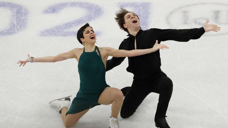 Notable actuación de Sara Hurtado y Kirill Khaliavin en los Mundiales