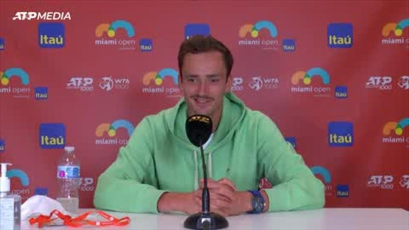 'I thought why not?' - Medvedev laughs about his Miami moustache