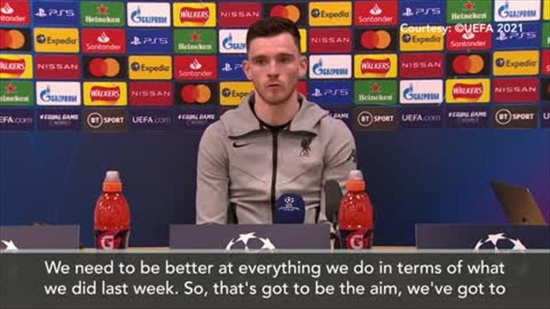 'We need to be better at everything we do' - Robertson on Madrid second leg