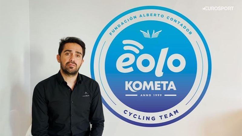 """Contador, ilusionado con el Eolo Kometa en el Giro: """"Queremos ser protagonistas"""""""