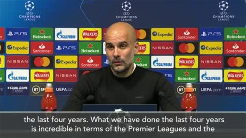 'Our reward for four years' work' - Guardiola