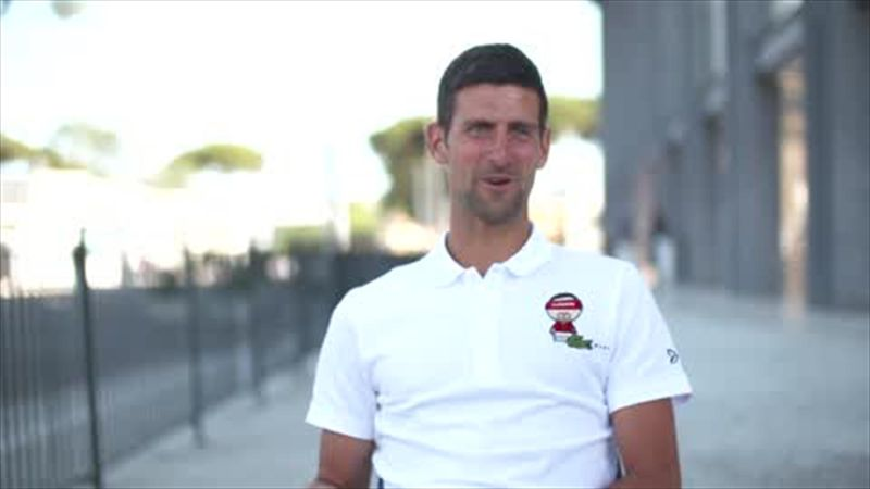 'Great to practise with Andy Murray and hopefully he's back soon' - Djokovic