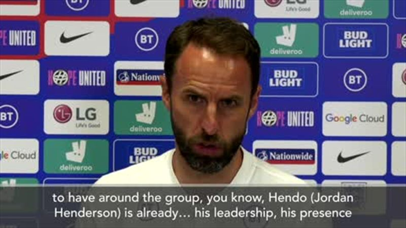 'They're such fantastic characters' - Southgate hails the leadership of Maguire and Henderson