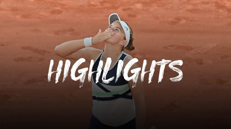Halbfinale: Krejcikova ringt Sakkari in Dreisatz-Krimi nieder