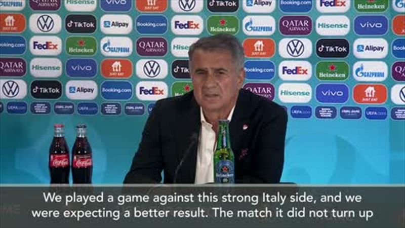 'We lost control' - Gunes on Turkey's loss to Italy
