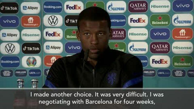 PSG were 'quicker' than Barcelona - Wijnaldum explains transfer decision