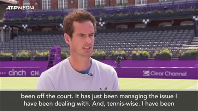 'I can't say with any great certainty I will be OK' - Murray ahead of comeback at Queen's
