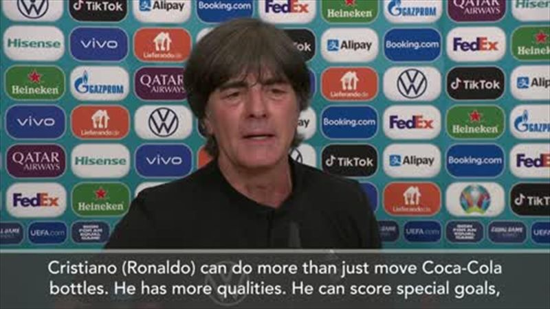 'Ronaldo can do more than move drink bottles!' – German coach Low