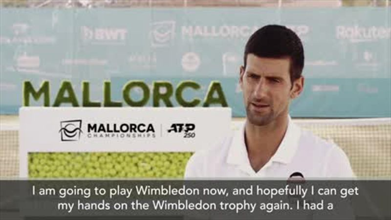 'Winning Wimbledon is like climbing Everest' Djokovic