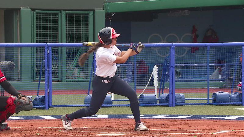 Tokio 2020 - USA vs Canada - Béisbol / Softball – Momentos destacados de los Juegos Olímpicos