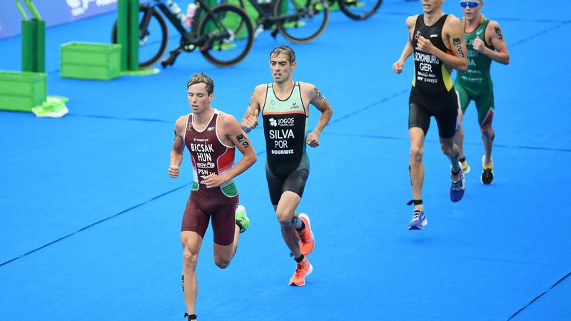 Bicsák Bence a magyar triatlonsport legjobb eredményét érte el