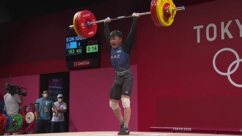 Weightlifting Men 61kg - Tokio 2020 - Momentos destacados de los Juegos Olímpicos