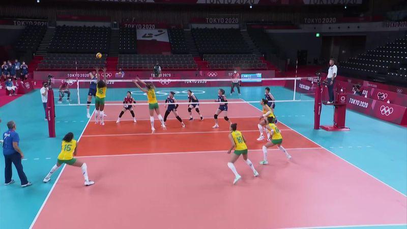 Tokyo 2020 - Brazil ile Korea - Voleybol – Olimpiyatların Önemli Anları