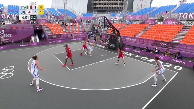 3x3 Basketball W Session 10 - Tokyo 2020 - Olympic Highlights