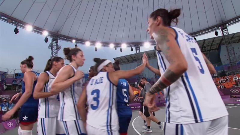 Tokyo 2020 - ITALY vs USA - 3x3 Basketball - Olympic Highlights