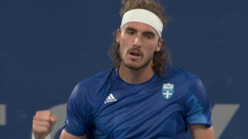 Tenis | Tsitsipas-Tiafoe: Revancha tras la sorpresa en Wimbledon (6-3, 6-4)