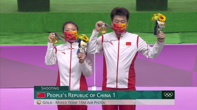 Shooting 10m Air Pistol Mixed Team - Tokyo 2020 - Olympic Highlights