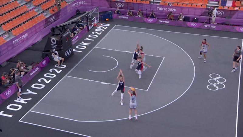 Tokyo 2020 - USA vs France - 3x3 Basketball - Olympic Highlights