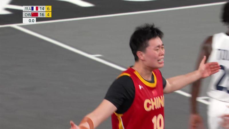 Tokyo 2020 - CHINA vs FRANCE - 3x3 Basketball - Olympic Highlights